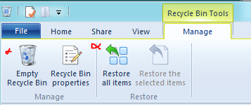windows 8 recycle bin